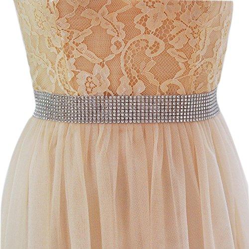 Nvfshreu Riemen Dames Kralen Sieraden Bruids Bruidsmeisje Jurken Band Elegant Mode Eenvoudige Stijl Leuke Slanke Decoratieve Taille Riem