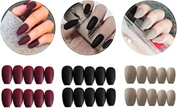 Amazon Com Press On Nails Coffin nails are the definition of suave yet trendy. amazon com press on nails