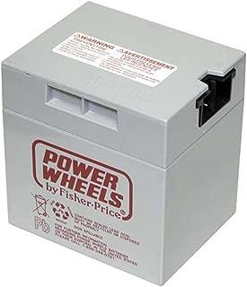 NEW 00801-0638 Battery 12 Volt Gray Genuine Power Wheels Fisher Price Grey 12V