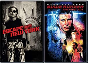 Final Blade Cut Runner Sci-Fi Classic Collection Harrison Ford & Escape from New York Snake Kurt Russell Double Feature 2-Movie DVD Set