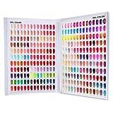 308 Nail Color Chart Display, Nail UV Gel Polish Book Nail Painting Practice Design Board, Fake Tips Nails Sample Display Nail Art for Nail Salons, DIY Nail Art at Home