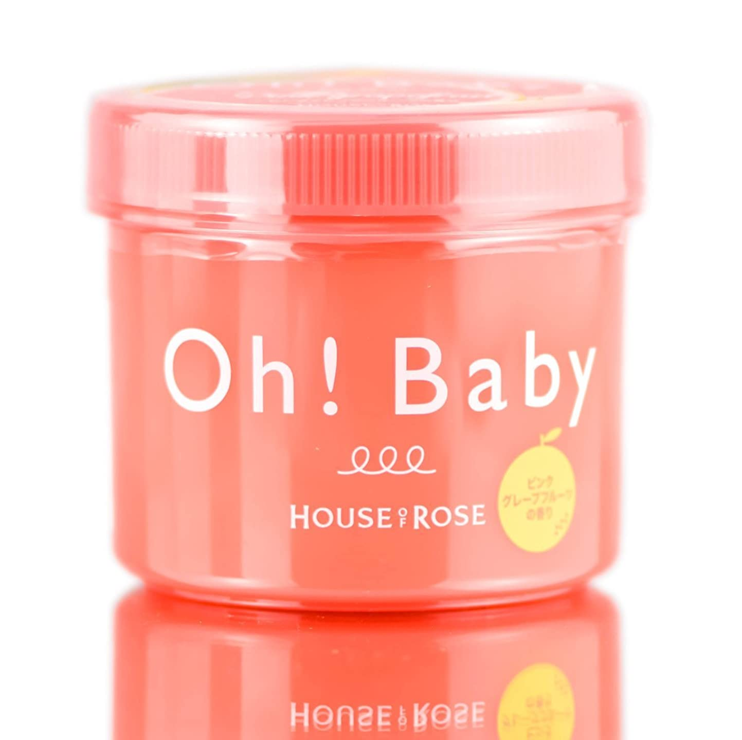 一人でチキン瞑想する【期間限定】HOUSE OF ROSE ハウス オブ ローゼ Oh! Baby ボディ スムーザー PGF (ピンクグレープフルーツの香り) 350g