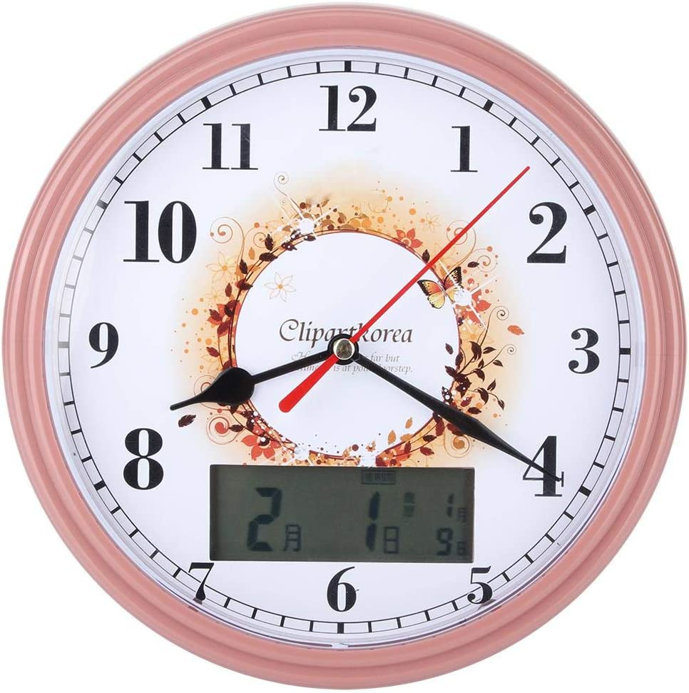Lairun Wall Clock, Table Clock, Not Easy to Be Damaged with Luna