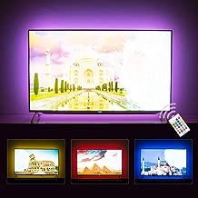 Hamlite LED Strip Lights for TV 65 Inch TV Backlight 65 Inch Bias Lighting TV Light Strip Mood Ambient Lighting, 15ft Customized Length to Cover 4/4 Sides of 60-65