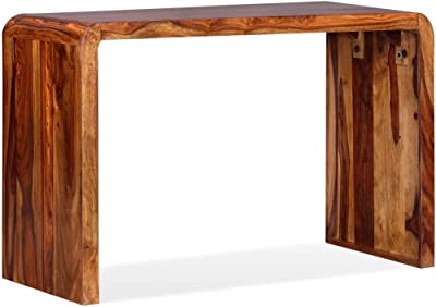 FMD Checker Escribanía, Madera, Blanco, 100x40x80 cm: Amazon.es: Hogar