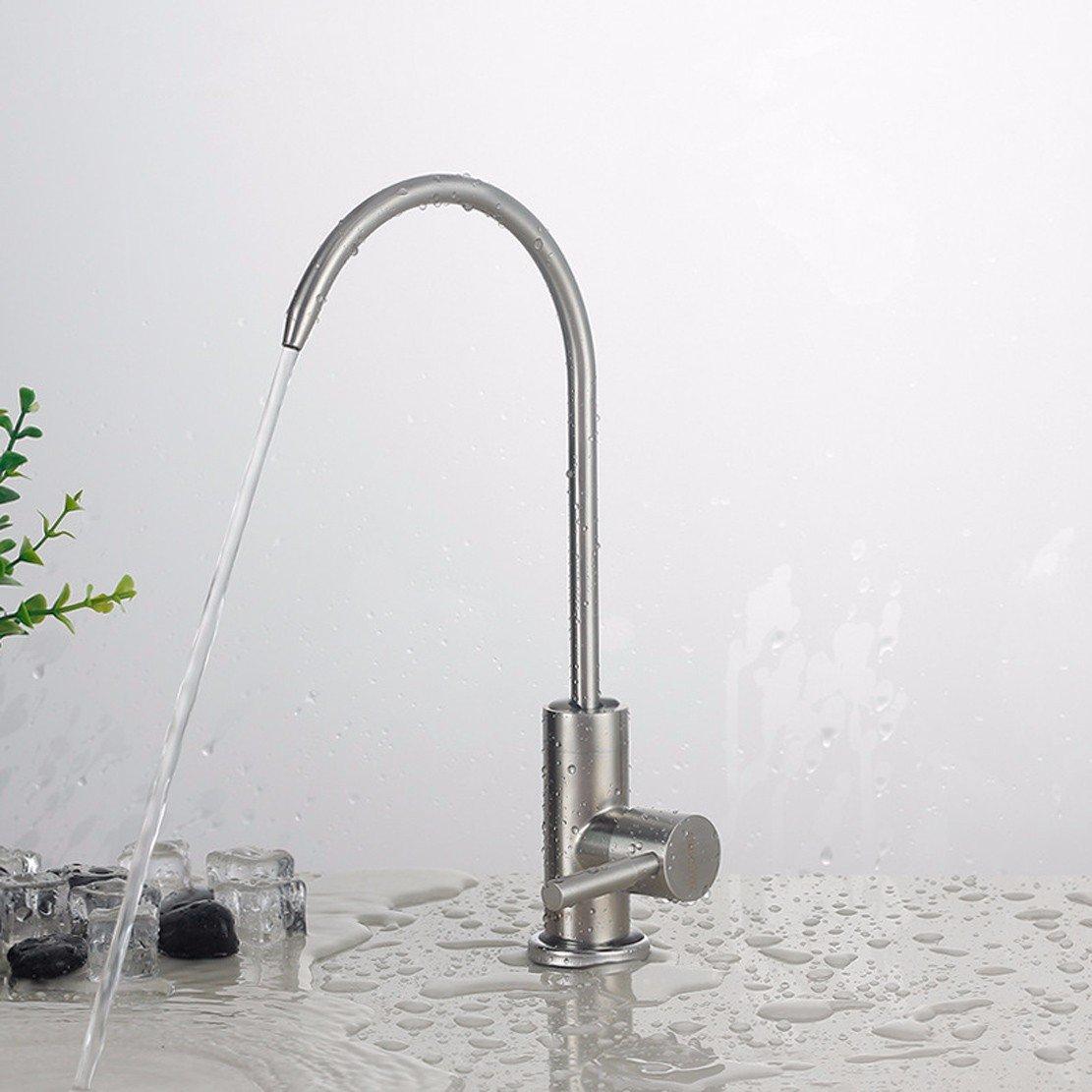 SDKKY Purificador de agua, grifo, _304 acero inoxidable lavado ...