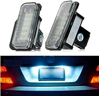 HNGCHOIGE 18 luces LED para matrícula sin errores, para Mercedes Benz W203 W211 W219