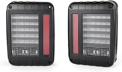 high quality Mallofusa LED online sale Tail Lights for 2007-2017 Jeep Wrangler JK Brake Reverse Turn Signal Lamp online for Jeep TJ LJ outlet sale