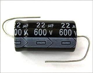 MIEC Qty. 3 22UF 600V 105C New Axial Electrolytic Capacitors