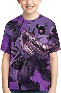 ChengZhiYuanBaiHuo T-Shirt da Uomo Casual a Maniche Corte 3D O-Neck da-NG-eR