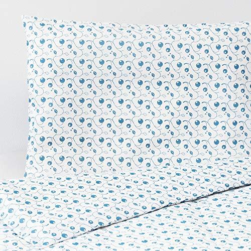 IKEA ASIA GULSPARV Bettdeckenbezug und Kissenbezug für Kinderbett, 110 x 125 cm, 35 x 55 cm