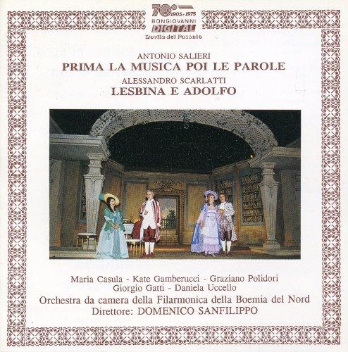 """Prima la musica e poi le parole, Scene 2: """"Deo gratias"""""""