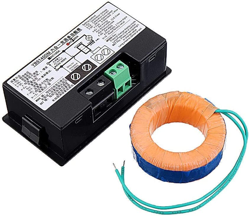 WXQ-XQ 6-in-1 AC60-500V specialty Branded goods shop 100A 200A Ammeter AC Three-phase Voltage