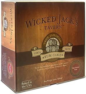 Wicked Jack's Tavern Red Velvet Rum Cake, 20-Ounce