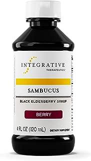 Integrative Therapeutics - Sambucus - Black Elderberry Syrup - For Traditional Immune System Support - 4 fl oz