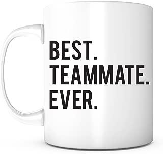 Best Teammate Ever-Teammate Mug,Best Team Player,Team Player Gift,Gift for a Teammate, Basketball Team Gift,Soccer Team Gift, Volleyball Team Gift,Christmas Gift,Birthday Anniversary Gift