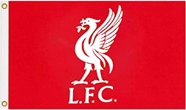 Reus Officiële Liverpool FC (2019 Premier League) Crest Vlag (100% Polyester & Maatregelen 5ft x 3ft)