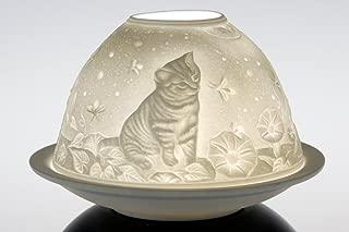 Porcelain Dome Lights in a Kittens Design