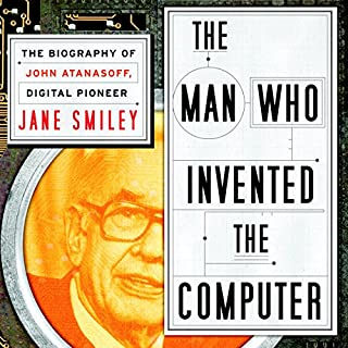 The Man Who Invented the Computer audiobook cover art