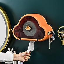 Toiletrolhouder, badkamerpapierrolhouder Toiletrolhouder voor keuken wasruimte -Oranje