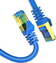 15ft CAT8 Ethernet Cable Veetop 40Gbps 2000Mhz High Speed Gigabit SFTP LAN Network Internet Cables with RJ45 Gold Plated Connector for Use of Smart Office Smart Home System iOT Gaming (1 Pack)