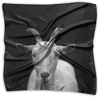 Goat Animal Horns Pattern Fashion Women's Classic Printing Scarf Headscarf