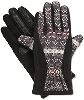 Isotoner Signature Matrix Nylon Thermaflex Core Gloves