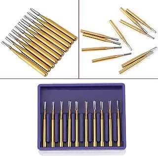 Carbide Burrs, 10 High-Speed Full Tungsten Steel Metal Cutting Carbide Drill