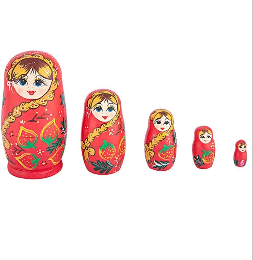 LWSX Nesting Recommendation Dolls Russian Handmade Wooden Max 64% OFF Matryos