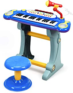 Costzon 37-Key Kids Electronic Piano Keyboard Toy Musical Ed