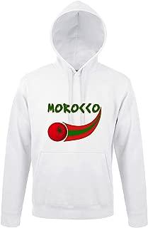 FR Supportershop Sweat /à Capuche Portugal Rouge Homme XXL 2XL Taille Fabricant