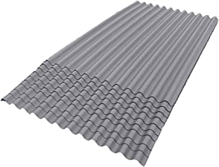 ONDURA 100 Corrugated Asphalt Roofing (10-Pack), Gray