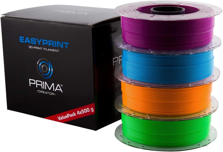 PrimaCreator EasyPrint 3D Drucker Filament - PLA B07KQR9NZ2