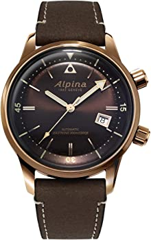 Alpina Seastrong Diver Automatic Brown Dial Men's Watch