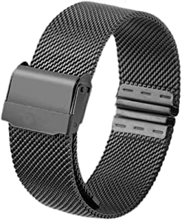 Delicate 12mm 14mm 16mm 20mm Watch Strap Metal Stainless Steel Wristwatch Band Quick Release Watch Band for DW Watch