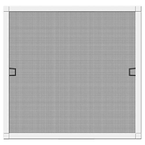 Schellenberg 70030 Insektenschutz-Fenster Plus Fliegengitter Fenster mit Rahmen - 100 x 120 cm