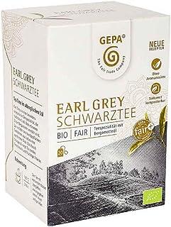 Gepa Bio Earl Grey Schwarztee - 100 Teebeutel - 5 Pack  20 x 1,7g pro Pack