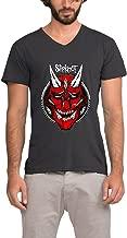 Slipknot Antennas To Hell Album Men V-Neck Art Printing Tee Shirts