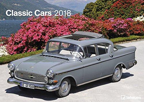 Classic Cars 2018: teNeues Autokalender