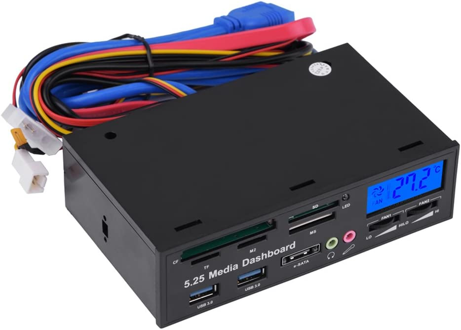 Front New York Mall Panel Dashboard Multi-Function USB Oakland Mall Hu Inch CD-ROM 3.0 5.25