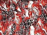 Animal Print Stretch Baumwolle Spanisch Kleid Stoff,