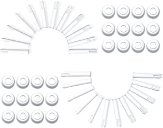 Ponwec 24 PCS Plastic Pool Joint Pins 10312 (2.36in) for Intex 13ft -24ft (2015 & Before) 10ft-12ft (2016 & After) Metal &...