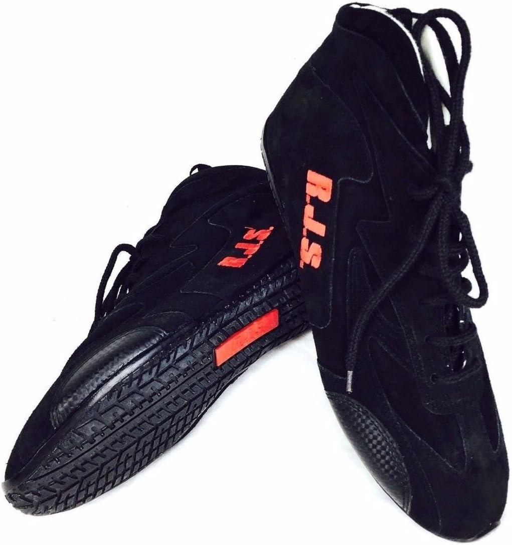 RJS SFI Cheap Ranking TOP17 mail order shopping 3.3 5 Racing Driving Shoes Womens 1 Black 14 Mens Size