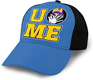 Grkou Cant See Me John Cena U Poster Logo Baseball Cap Women Men Baseball Hat Adjustable Classic Cap