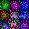 Disco Ball Party Lights Portable Rotating Lights Sound Activated LED Strobe Light 7 Color with Remote and USB plug in for Car Home Room Parties Kids Birthday Dance Wedding Show Club Pub Xmas #1