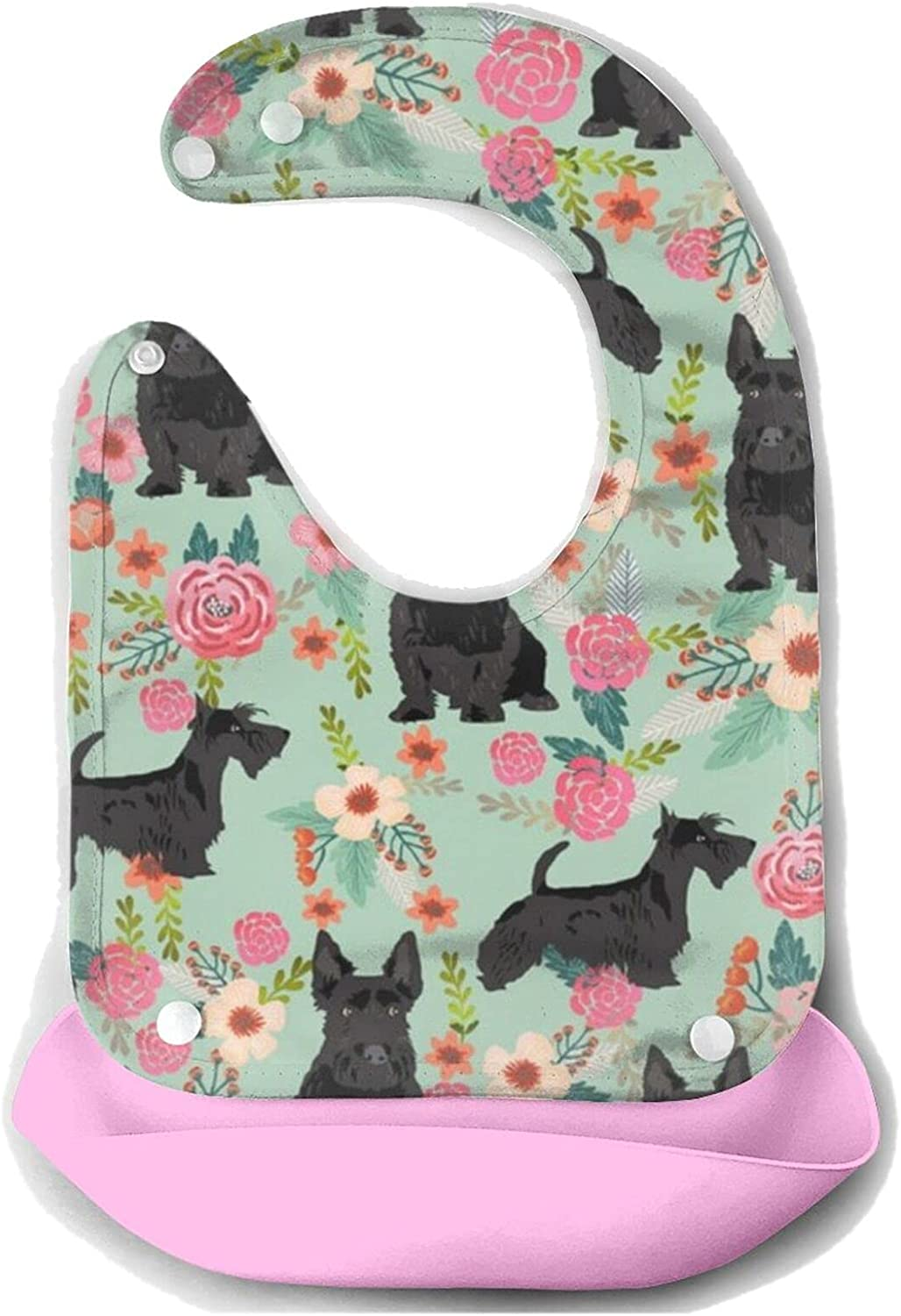 NiYoung Silicone Louisville-Jefferson County Mall Bib Drooling Bibs Lowest price challenge Bandana Ressistant Water Baby