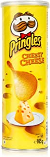 Pringles Cheesy Cheese Flavored Chips 165 grams Can