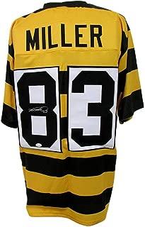 Heath Miller Signed Jersey - Striped 135644 - JSA Certified - Autographed NFL Jerseys