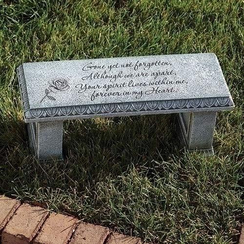 Roman 6.25' H Memorial Bench