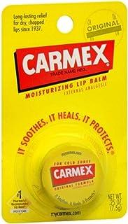 Carmex Moisturizing Lip Balm, Original 0.25 oz